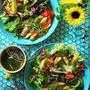 暑さ対策の減塩野菜ワンプレート。