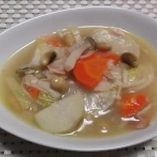 冬のスープとシチュー