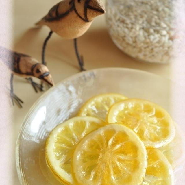 レモンのシロップ煮とレモンピール&スイミー