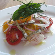 「乾物イタリアン」煮干しの自家製いちごビネガーマリネ by みのりさん