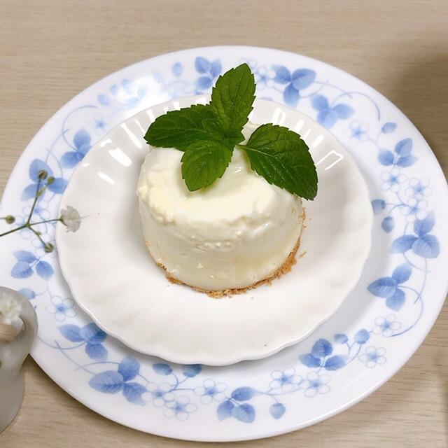 No.2 認知症の母の様子…初期の頃…☆濃厚レアチーズケーキ作ってみたよ