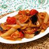 豚肉とたっぷり野菜のチリトマ炒め