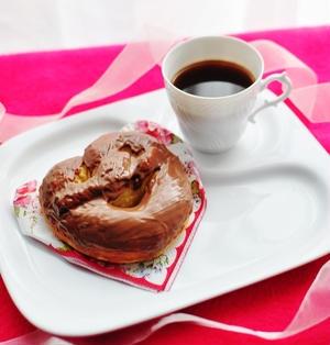 バレンタインにチョコプレッツェル