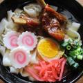 豚スぺアリブ角煮で沖縄そば・山原〈やんばる〉ソーキそば風♪
