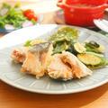 秋鮭とズッキーニと大葉のフリッター(卵不使用) by アップルミントさん