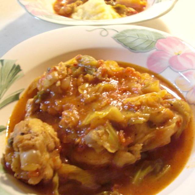 チキンのハーブトマト煮☆