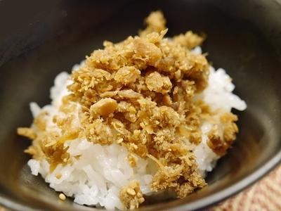 ★ 生鮭のアラから美味しいふりかけ