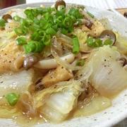 15分煮るだけ☆ 白菜と油揚げと春雨の中華煮