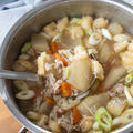 【レシピ】冬瓜と豚肉のとろとろスープ(野菜たっぷり!具だくさん♡)