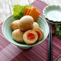 たまごとチーズの甘辛漬け(レシピ)