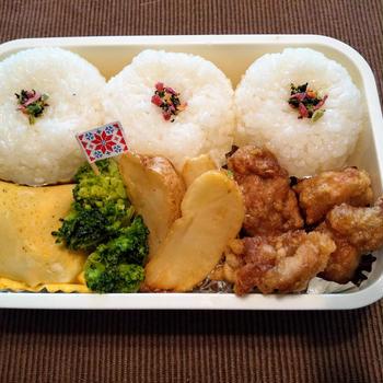 今日のお弁当 第1531号 ~唐揚げ弁当~
