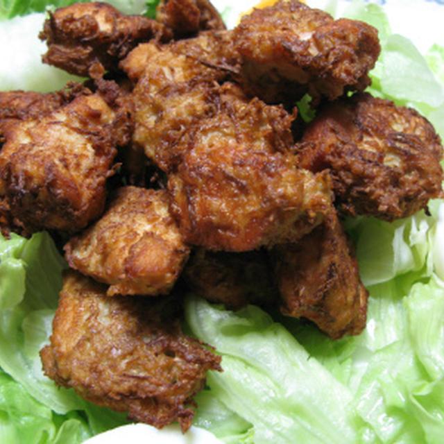 新生姜衣の鶏むね肉揚げ焼き&新生姜ごはん(レシピ)