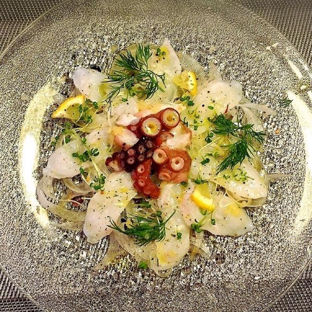 涼しげ料理♪あと一品.・☆五分で出来る簡単♡蛸のカルパッチョ