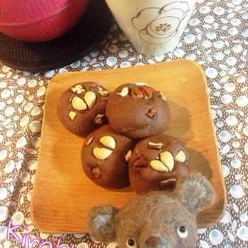 【バレンタイン】チョコはチョコでも☆チョコ饅頭