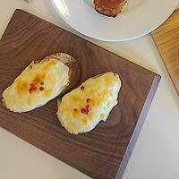 ポテトとチーズのタルティーヌ