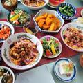 ■ケータリング朝ご飯【鰻卵海藻入り茶漬け/すいとん/南瓜煮/漬物他です♪】