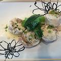 和風ガランティーヌ風をパスターソースで~ピリッとして美味しかった!!
