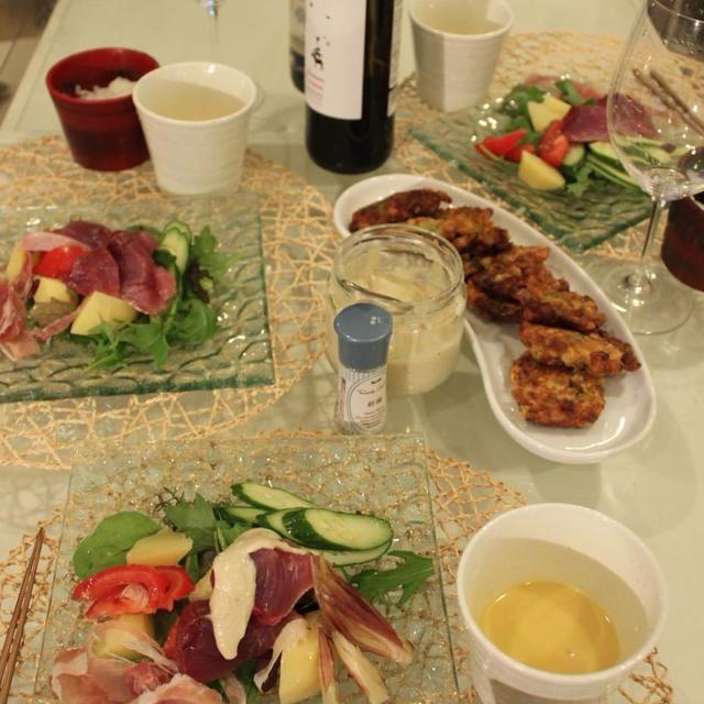 作り置きおうちバーニャカウダソースでお気楽ごはん かつおとたっぷりお野菜サラダ仕立て