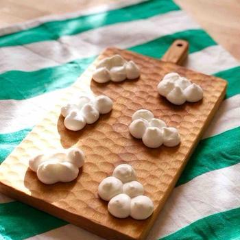 次女の作ったメレンゲ菓子