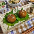 里芋の肉巻きコロッケが主役の晩御飯♪ by strawberry-macaronさん