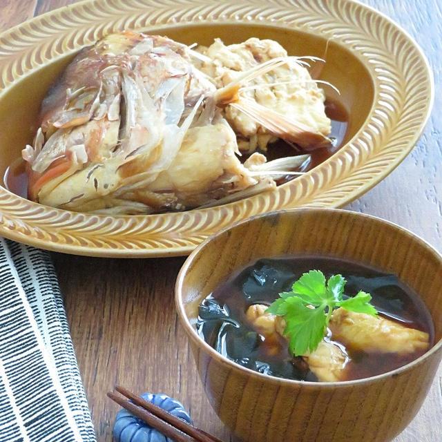 【#茨城新名物料理コンテスト】鯛の赤だし