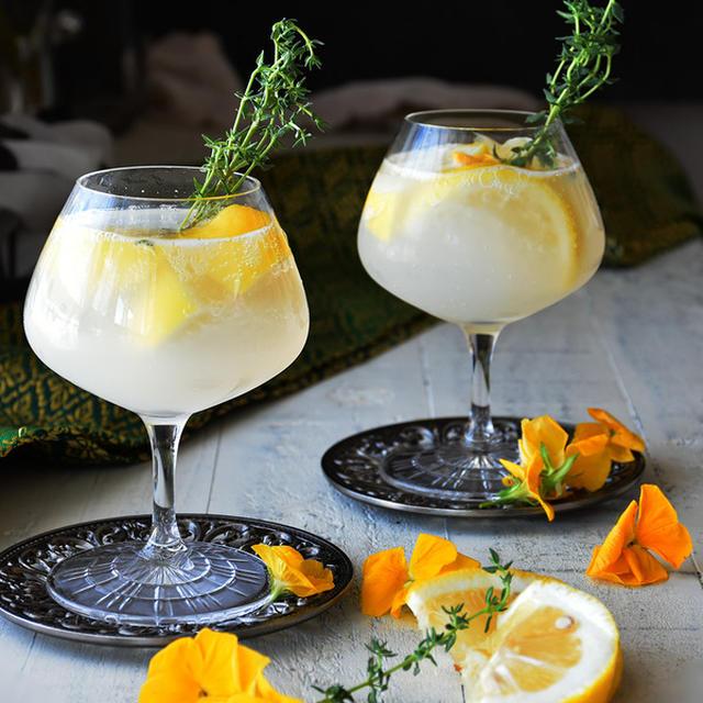 レモン&カルピスサワー 夏肌喜ぶカクテル