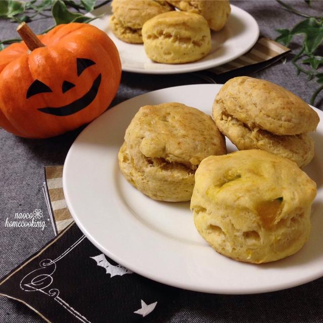 乳製品不使用!簡単ですぐできる♪かぼちゃのスコーン