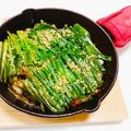 豚バラのにんにくぽん酢スタミナ蒸し焼き