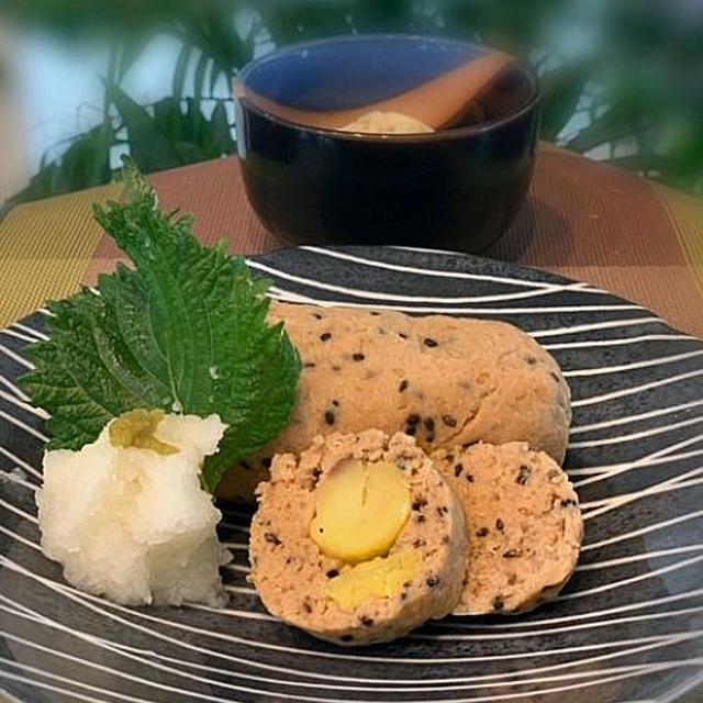 小粒な栗消費に「豚ひき肉の栗・胡麻いりパテ風」・・・おもてなしや夕食の一品に美味しいです!!