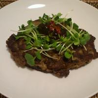 秋刀魚のハンバーグ (お鍋つみれのリメイク)