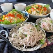 梅ペーストで時短簡単大根サラダ