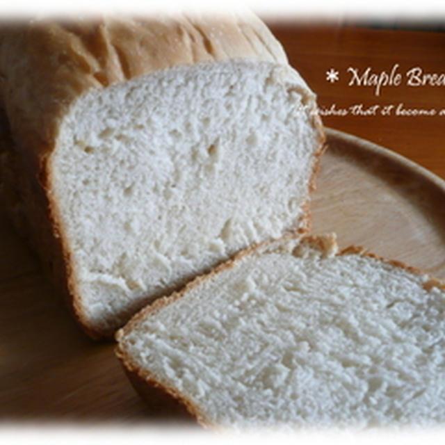 メイプルシロップ食パン
