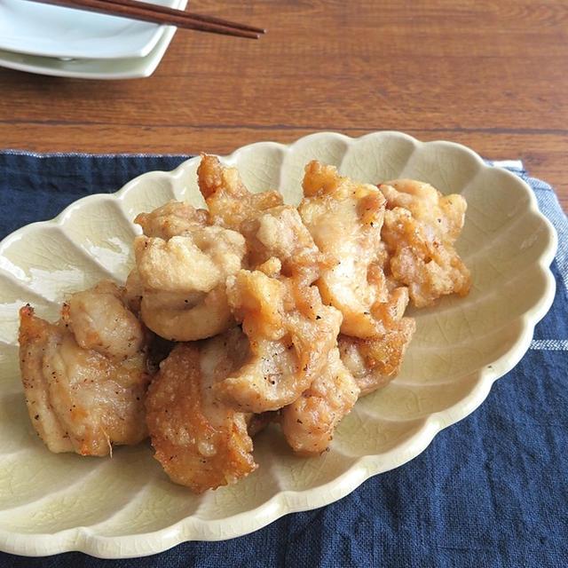 ごはんがススム和総菜◎にんにく生姜風味の鶏の唐揚げ
