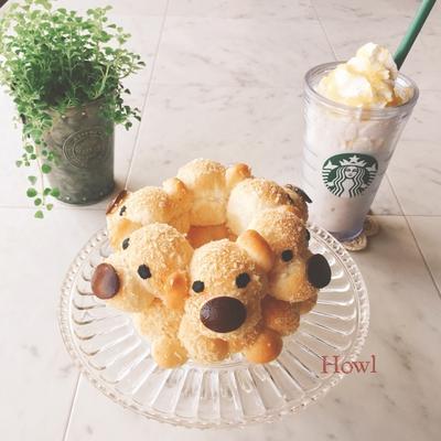 THE DOG風ぬいぐるみパン♡レアチーズケーキフラペチーノ