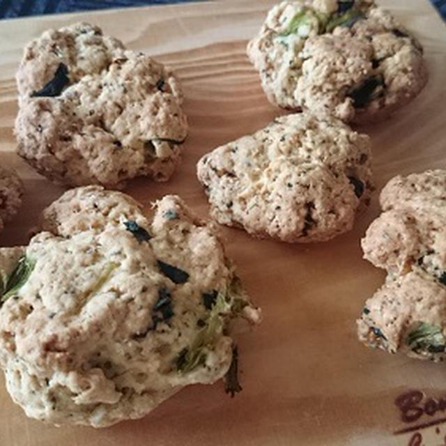 小松菜のげんこつクッキー