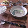 牡蠣とチンゲン菜の、味噌クリームシチュー。