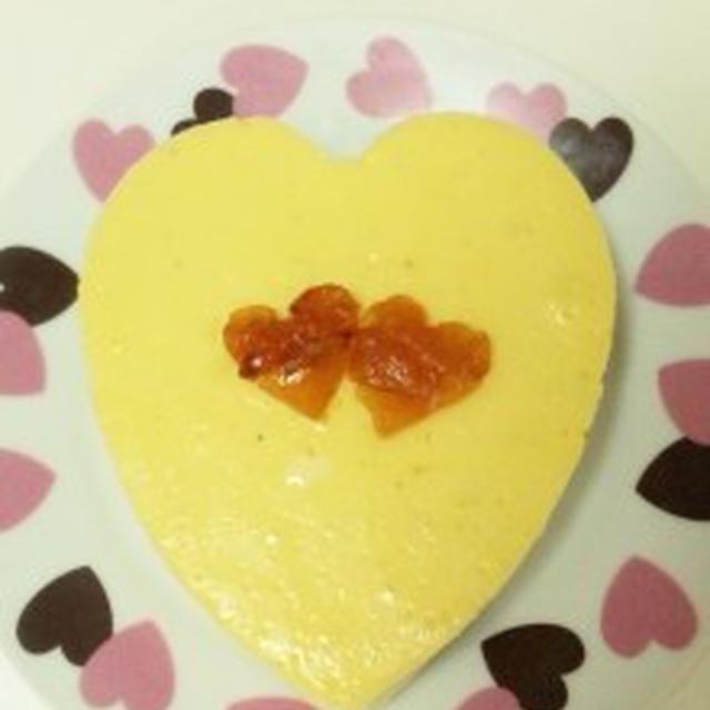 とろける食感☆なめらかホワイトチョコチーズケーキ☆~入籍9ヶ月記念日デザート~のレシピ