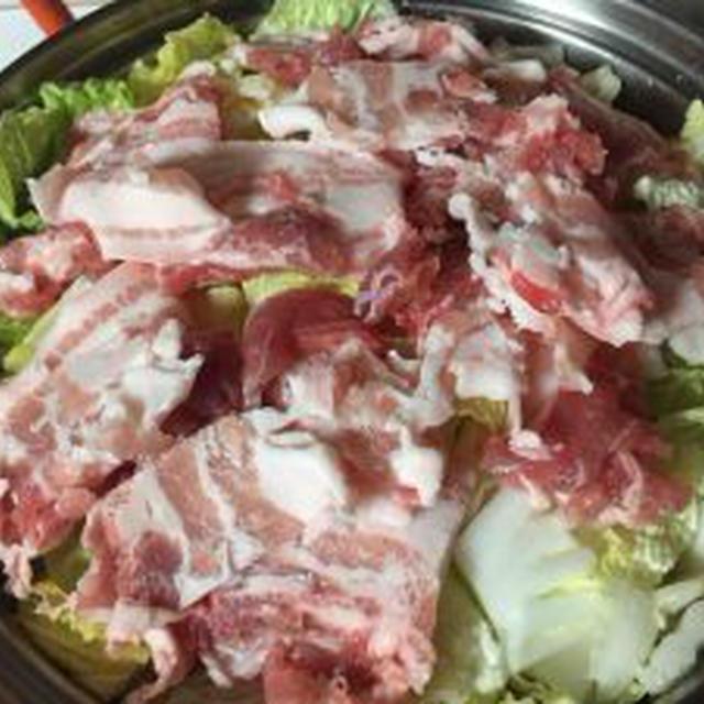 白菜と豚の重ね煮