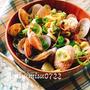 もずくを麺代わりに☆生姜入りアサリうどん風もずくスープ