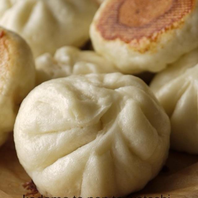 【総菜パン】ホットプレートで焼きパオズ