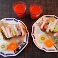 1枚で2度おいしい☆ビフカツサンドイッチ♪☆♪☆♪