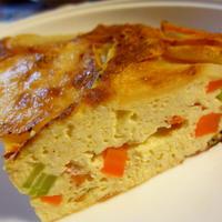 豆腐のスパニッシュオムレツのレシピ