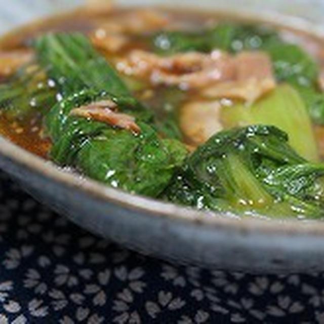 青梗菜(ちんげんさい)のオイスターソース煮