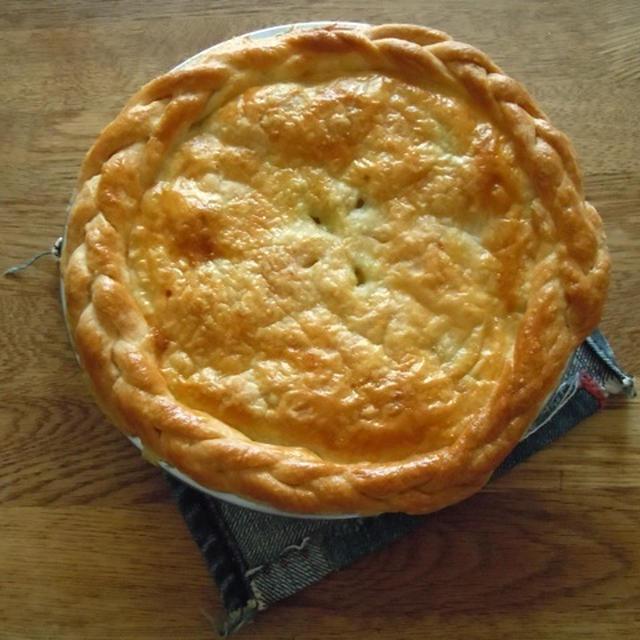 ズッキーニのパイ