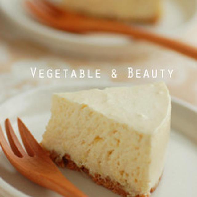 しょうがのレアチーズケーキ
