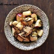 甘じょっぱさがあとをひく!りんごの塩昆布和え