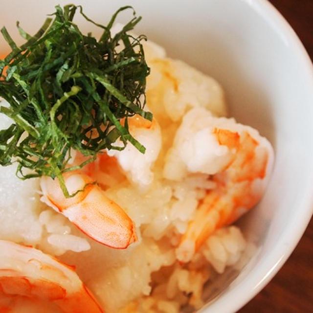 長芋と海老の夏ごはん♪