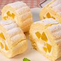 食べきりサイズの【ビスキュイロールケーキ】作り方