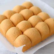 レシピブログさんの連載は『黒糖きな粉ちぎりパン』