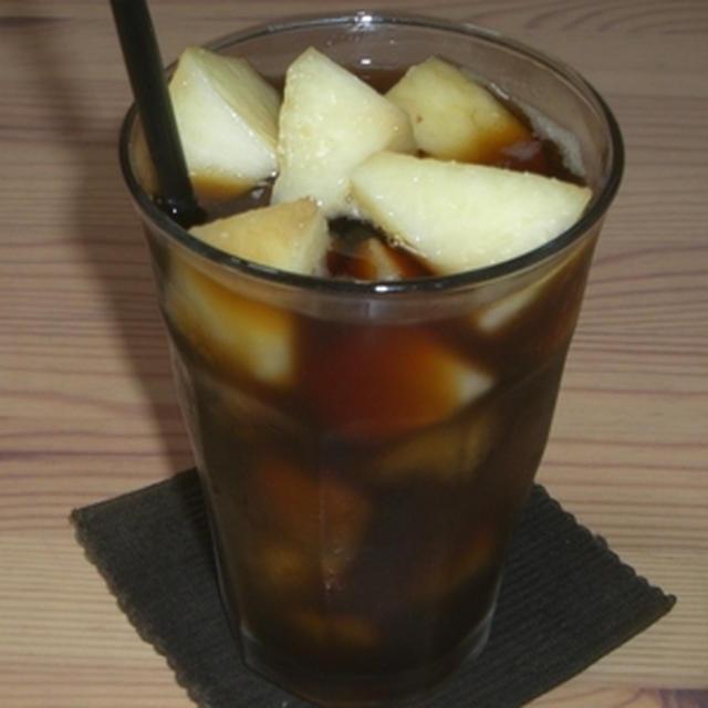 白桃のコーヒーサングリア